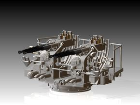 Quad Bofors Kit 1/72 in Smooth Fine Detail Plastic