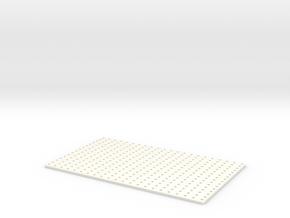 Hal9000-smallgril in White Processed Versatile Plastic