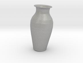 7in tall Replica Kutani Vase in Aluminum