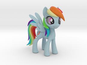 Rainbow Dash in Full Color Sandstone