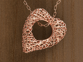 Love Nest in 14k Rose Gold Plated Brass