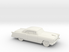 1/64 1956 Packard Executiv Coupe in White Natural Versatile Plastic