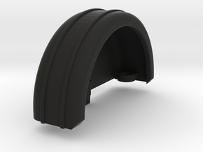 Railbox Barrel End in Black Natural Versatile Plastic