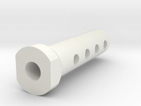 MiniZ Lexan body column in White Strong & Flexible