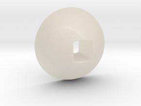Bender Eye in White Acrylic