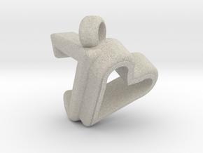 Pendant Design for Joanne in Natural Sandstone