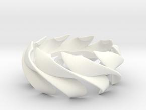 Sunwaves Handmade Ring / Bronze Brass or Silver Ri in White Processed Versatile Plastic