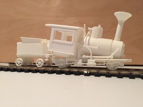 Mt. Washington Cog Railway Locomotive #9 with Feed in Smooth Fine Detail Plastic