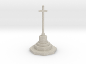 War Memorial in N Gauge (1:148) in Natural Sandstone
