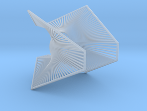 A lamp - Enneper in Smooth Fine Detail Plastic