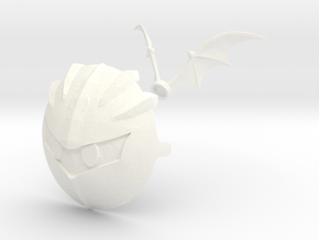 Nendoroid Kirby Meta Knight Mask and Wings in White Processed Versatile Plastic