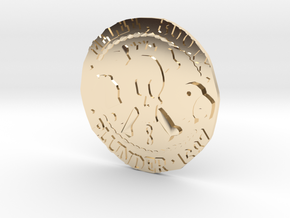 Monkey Island 3 | Verb Coin in 14K Yellow Gold