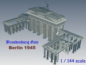 1-144 Brandenburg Gate Ruins in White Natural Versatile Plastic