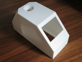 Coffee spectrometer housing in White Natural Versatile Plastic