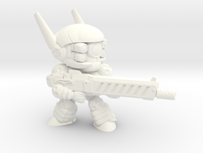 E-SWAT UNIT-008 (E) in White Processed Versatile Plastic