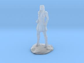 Amazon Warrior Queen With Sword in Smooth Fine Detail Plastic