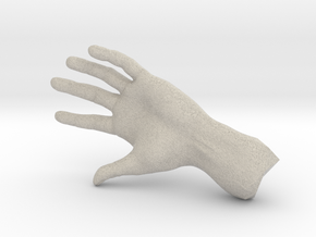 The Hidden Hand (Miniature) in Natural Sandstone