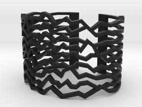 Bracelet Dutch Mountains M in Black Strong & Flexible