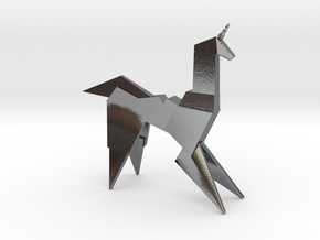 Gaff's Unicorn | Blade Runner Origami in Polished Silver