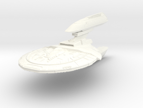 Ultra Class Refit Destroyer in White Processed Versatile Plastic
