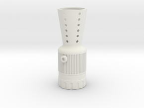 Merr Sonn Flash Hider in White Natural Versatile Plastic