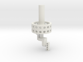 03B-LGA in White Natural Versatile Plastic