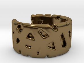 Bracelet Ø69 mm/Ø 2.71 inch in Polished Bronze