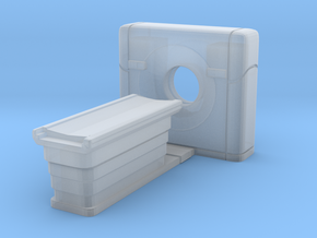 CT Scanner 01. HO Scale (1:87) in Smooth Fine Detail Plastic