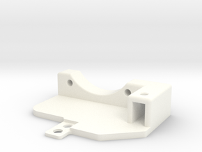 Awesomatix - Cooling Fan Holder (30mm) in White Processed Versatile Plastic