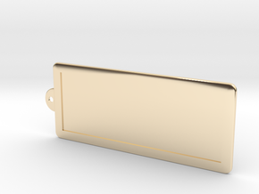 Custom Key Holder in 14K Yellow Gold
