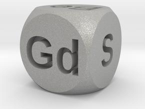 Elemental Doubling Cube in Aluminum