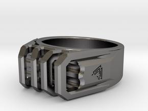 Asgard Size 11½-12 in Polished Nickel Steel