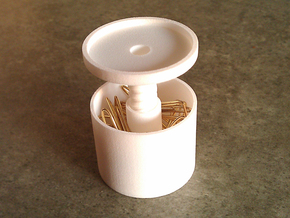 ring holder The Ringmaster Solid Tall in White Strong & Flexible