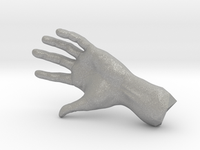 The Hidden Hand (Miniature) in Aluminum