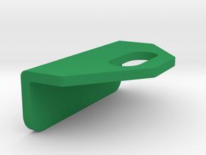 CFTBL Pinball - RHS Ramp Protector / Strengthener in Green Processed Versatile Plastic