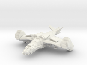 Gremlin Gunship in White Natural Versatile Plastic