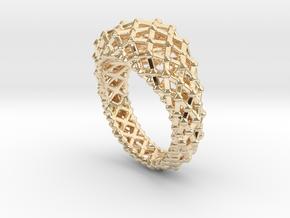 Atomic Ring in 14K Yellow Gold