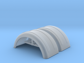 MIN221800 2x 1/64 fenders in Smooth Fine Detail Plastic