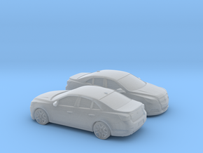 1/160 2X 2013-Present Chevrolet Malibu in Smooth Fine Detail Plastic