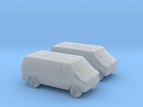 1/148 1976 Dodge Van in Smooth Fine Detail Plastic