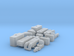 Transformers Gum Fortress Maximus Add-on Parts in Smooth Fine Detail Plastic