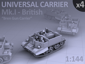 Universal Carrier Mk.I - (4 pack) in Frosted Ultra Detail
