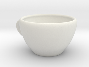 Coffee Mug in White Strong & Flexible