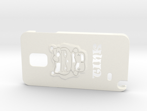Tink's Phone Case in White Strong & Flexible Polished
