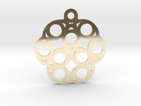 Nine. - Tribute to the Philosophy of Number in 14K Yellow Gold