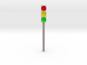 Traffic lights (Ampel) in Full Color Sandstone