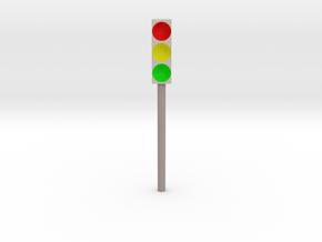 Traffic lights (Ampel) in Full Color Sandstone