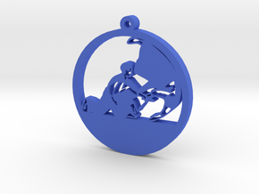 Keychain Aikido/Judo/Karate/Taekwondo/Fighting in Blue Processed Versatile Plastic