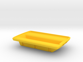 Amphicat body bottom in Yellow Processed Versatile Plastic