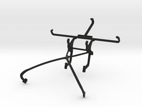 NVIDIA SHIELD 2014 controller & XOLO LT2000 - Fron in Black Natural Versatile Plastic
